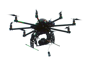 Hexacopter drone